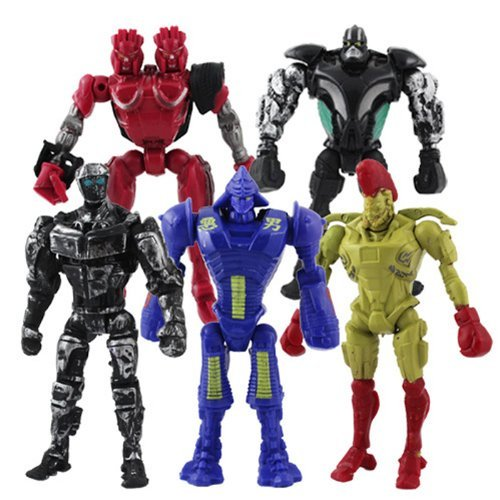 5x-real-steel-atom-midas-noisey-boy-zeus-13cm-pvc-action-figure-set
