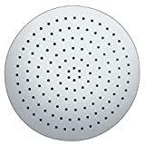 Phoenix Round Stainless Steel Shower Head with Ceiling Arm 300mm x 300mm