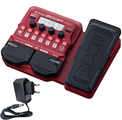 Zoom B1X FOUR Multi-Effektgerät für Bass +