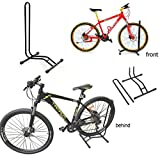 Jjonline – Supporto da pavimento bici sport bicicletta single Floor parking rack garage bagagli e supporto