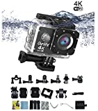 4K 30fps Sport Action Camera Ultra HD Action Camera Camcorder Wifi Built-in 30M