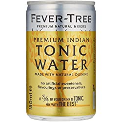 Fever-Tree Premium Indian Tonic Water, 24er Pack (24 x 150 ml) Dose