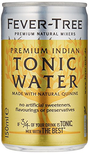 Fever-Tree Premium Indian Tonic Water 24 Dosen à 150 ml - inkl. 6 Euro Pfand