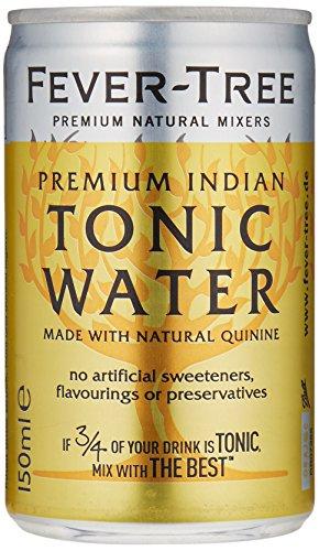 fever tree mediterranean tonic Fever-Tree Indian Tonic Water, 3er Pack (3 x 8 x 150 ml)