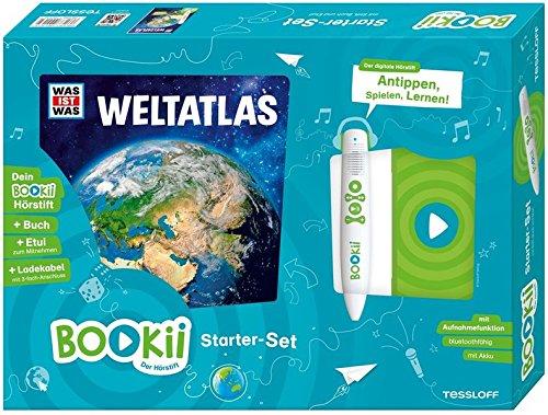BOOKii Starterset was IST was Weltatlas: BOOKii Der Hörstift mit Aufnahmefunktion und BOOKii was IST was Buch Weltatlas