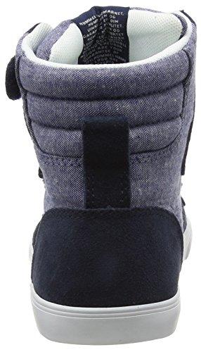 Hummel Unisex-Kinder Slimmer Stadil Tie Dye Jr Hi High-Top Blau (Dress Blue 7459)