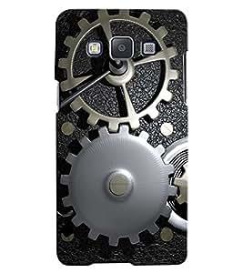 Citydreamz Gear\Mechanic\Machines Hard Polycarbonate Designer Back Case Cover For Samsung Galaxy E5