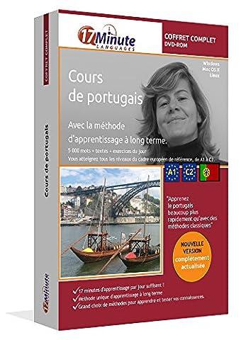 Cours de portugais : coffret complet (A1-C2). Logiciel pour Windows/Linux/Mac