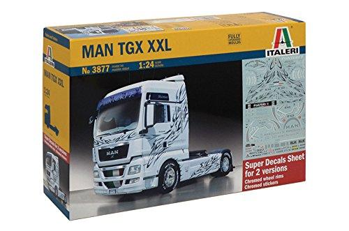 Italeri 3877 - man tgx xxl model kit scala 1:24