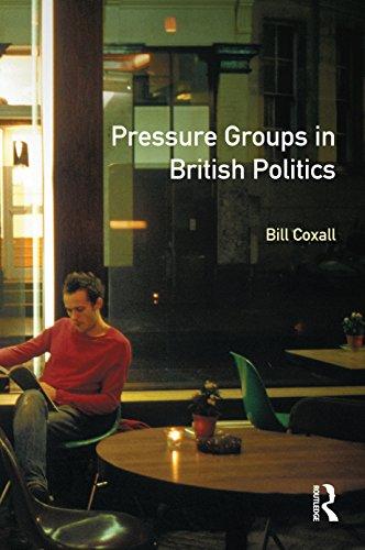 Pressure Groups in British Politics por W.N. Coxall