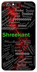 Shreekant (Husband Of Shree(Lakshmi) ( Lord Vishnu ), Beautiful) Name & Sign Printed All over customize & Personalized!! Protective back cover for your Smart Phone : Oppo F - 1-S
