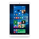 Teclast X80 Plus 8.0' Dual OS Windows10 & Android 5.1 Tablet PC, 2GB + 32GB Intel Cherry Trail Z8300 Quad Core 1280 x 800 IPS Touch Screen Tablet Computer with Dual Camera Wifi Bluetooth HDMI OTG - White