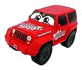Dickie Toys 203811001 - Jeep Wrangler Squeezy mit knautschbarer Karosserie, 11 cm, Farblich Sortiert medium image