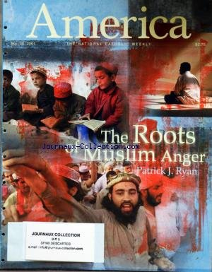 AMERICA du 26/11/2001 - THE ROOTS OF MUSLIN ANGER BY RYAN