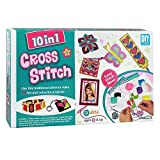 #7: HALO NATION 10 in 1 Cross Stitch art and Craft kit for Girls