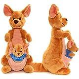 Disney Winnie The Pooh 36cm Kanga & Roo Soft Plush Toy