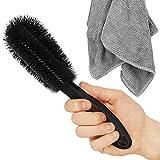 JETZT NEU - Sarteon Felgenbürste zur perfekten Reinigung deiner Felgen - Felgenreinigungsbürste - Felgen reinigen (Schwarz)