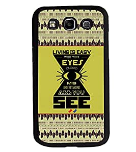 Printvisa 2D Printed Quotes Designer back case cover for Samsung Galaxy E7- D4272