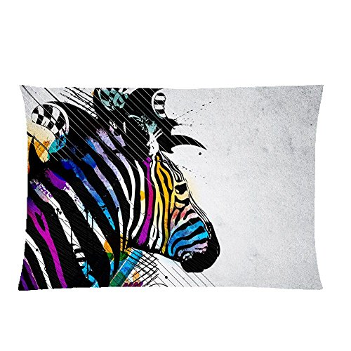 For Pillow Cover 300Mmx400Mm For Kid Different Have With Zebra Cotton (Zebra-print-boxer)