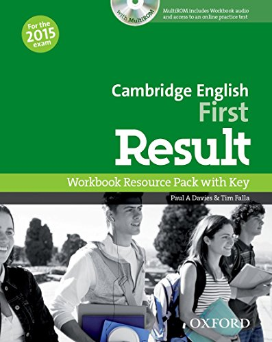 Cambridge English: First Result: First Result Workbook with Key Exam CD-R Pack 2015 Edition por Paul A. Davies