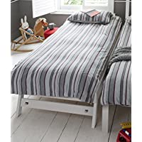 Noa and Nani - Matheus Pull Out Extra Guest Bed Trundle for Underbed - (White)