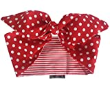 Best Vintage Scarves - Gas Axe Inc Red Polka Dot Stripe Head Review