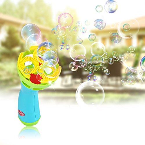 chine, Blase Zauberstab Gebläse, Innen / Draussen Komisch zum Kinder und Erwachsene, Einfach zu Benutzen zum Weihnachten, Pates, Grill, Ball, Hochzeit durch Proacc (Blase Zauberstab)