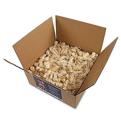POOL Total 5kg Kaminanzünder und Grillanzünder ökologischer Holzanzünder Brennholzanzünder Holzkohle Briketts Kaminholz von SmoKings by