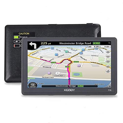 Xgody 715 - Sistema de Navegación GPS para Camión de 7 Pulgadas...