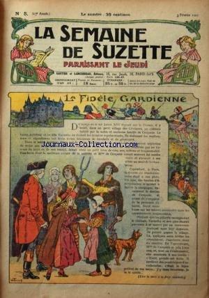 SEMAINE DE SUZETTE (LA) [No 5] du 03/02/1927 - LA FIDELE GARDIENNE - L'AUTOMOBILE DE BECASSINE