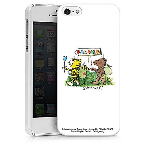 Apple iPhone X Silikon Hülle Case Schutzhülle Janosch Fanartikel Merchandise Panama Hard Case weiß