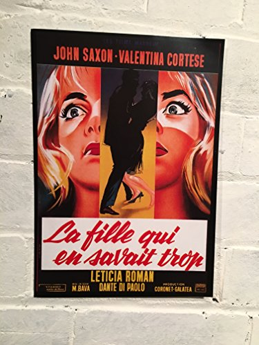 Französischer Vintage Reproduktion Film Poster A4aus der 1963Film