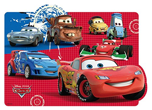 Preisvergleich Produktbild p:os 68793 Platzset Disney Cars, 42 x 29 cm