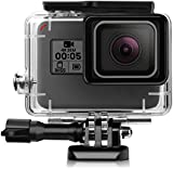 iTrunk Waterproof Protective Housing Case with Quick Release Bracket & Thumbscrew for GoPro Hero 6 Hero 5 Black Action Camera