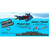 GB + PG + LT Combo Kit - FeedWale Growth Booster + Power Gel + Liver Tonic Internal Health Kit for Fishes