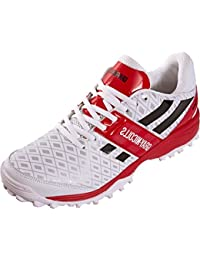 Grey-nicolls GN Atomic Semelle en caoutchouc Chaussures de cricket Sports à lacets Baskets de running