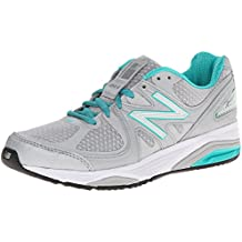 New Balance Women's W1540V2 Optimum Control Running Shoe, White/Blue, 10 4E US