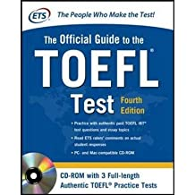 Official Guide to the TOEFL Test [With CDROM] (McGraw-Hill's Official Guide to the TOEFL Ibt (W/CD)) Educational Testing Service ( Author ) Aug-31-2012 Paperback