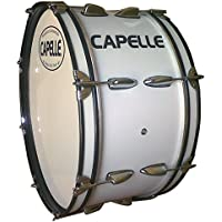 Capelle PB20 Marching Bass Drum Head-White, de 20 pulgadas