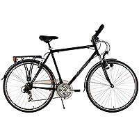 KS Cycling 102T - Bicicleta para hombre, cuadro 58 cm, color negro
