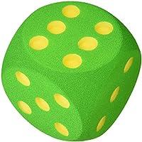 Giant Foam Dice - 16cm - GREEN