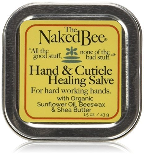 The Naked Bee Hand amp; Cuticle Healing Salve - The Naked Bee - Beeswax Shea Butter 45g
