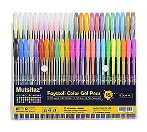 48 Colores Bolígrafos de Gel