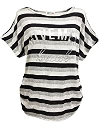 Emma & Giovanni - T-shirt à Rayure Manche Courte - Femme