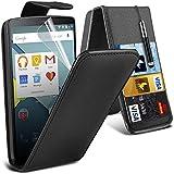 Aventus ( Black ) LG G4 Case Protective Elegant PU-Leder-Schlag mit Kredit- / Bankkarte Slot-Kasten-Haut-Abdeckung mit LCD-Display Schutzfolie, Poliertuch und Mini-versenkbaren Stylus Pen