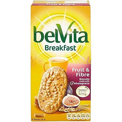 Belvita Colazione Biscotti - Frutta & Fibre (6X50g)
