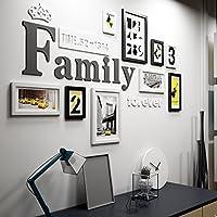Unbekannt Global  9 Multi Bilderrahmen Set Kiefer Holz Kreativ Portfolio  Moderne Wohnzimmer Wand Foto Bild