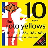 Rotosound Nickel Regular Gauge Electric Guitar Strings (10 13 17 26 36 46)