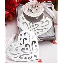 Lote de 20 Puntos de Libro Corazón Elegance En caja de regalo - Regalos, Detalles