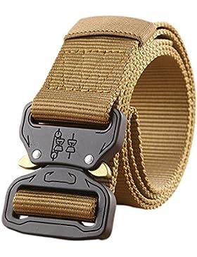 Cintura Tattica Striscia Militare Riggers Riggers Cintura Web con Cobra Fibbia